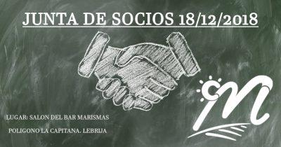 CONVOCATORIA DE JUNTA DE SOCIOS DE LA ORGANIZACIÓN DE PRODUCTORES DE FRUTAS Y HORTALIZAS, LAS MARISMAS DE LEBRIJA, S.C.A.