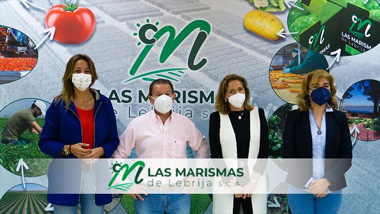 Visita de Delegadas Territoriales para solucionar situación derechos de emisión CO2 de Las Marismas de Lebrija SCA