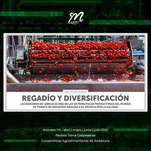 Las Marismas de Lebrija SCA en la Revista Tierra Cooperativa